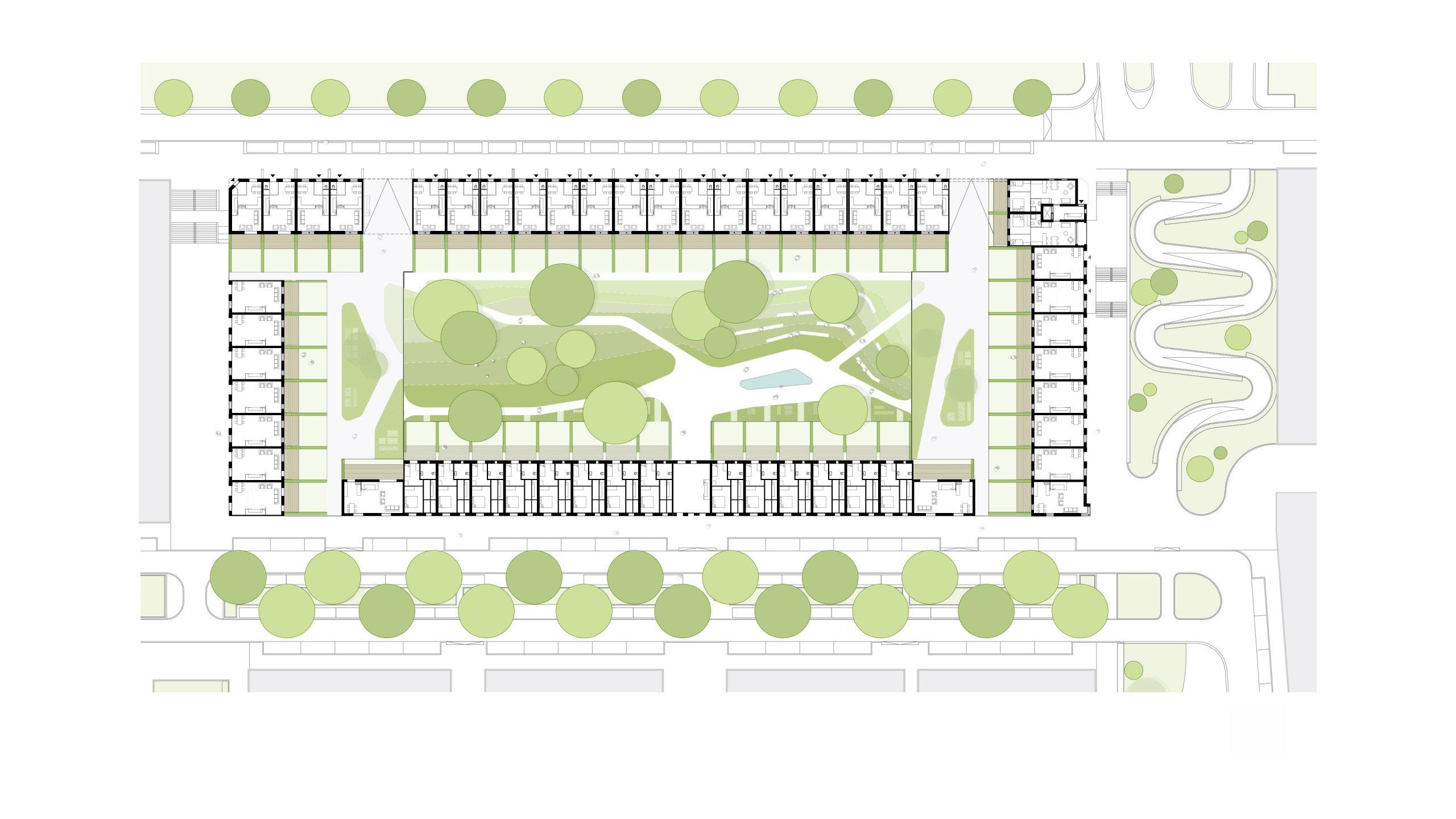 plattegrond van bouwveld 7, Leeuwensteyn Utrecht